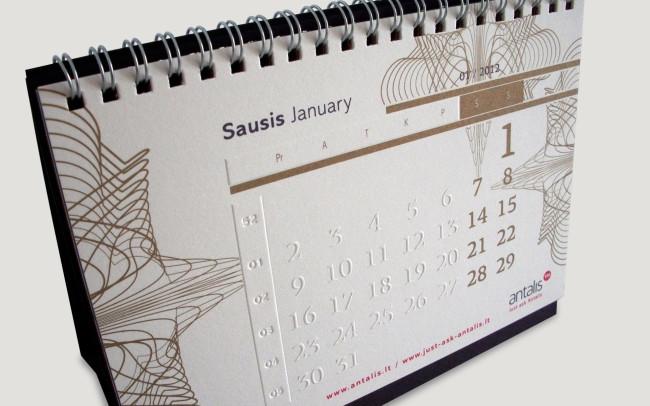 Antalis Calendar 2012