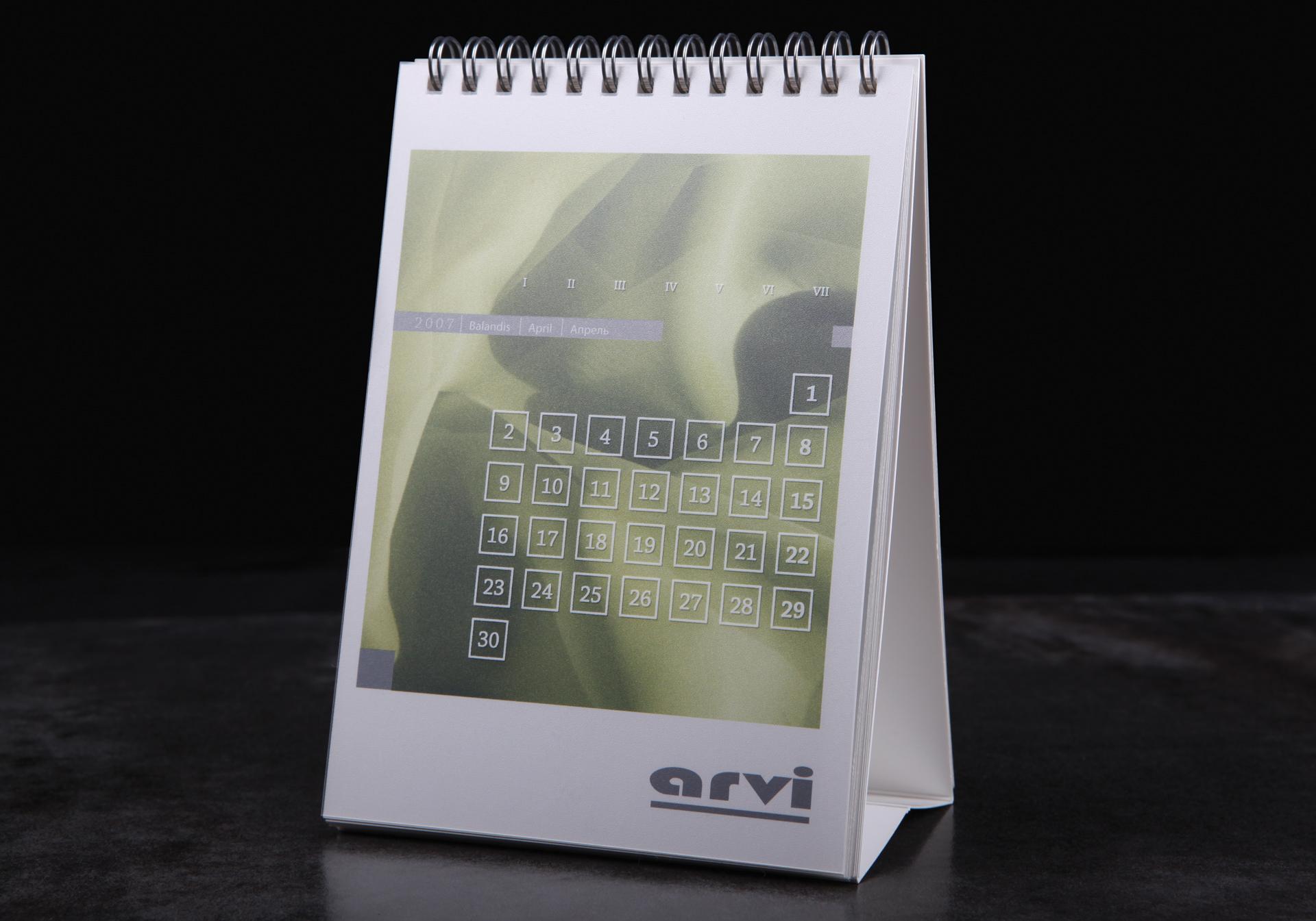 Arvi Calendar
