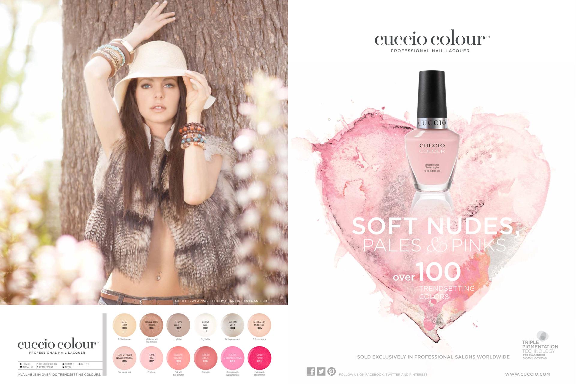 Cuccio Colour Ad