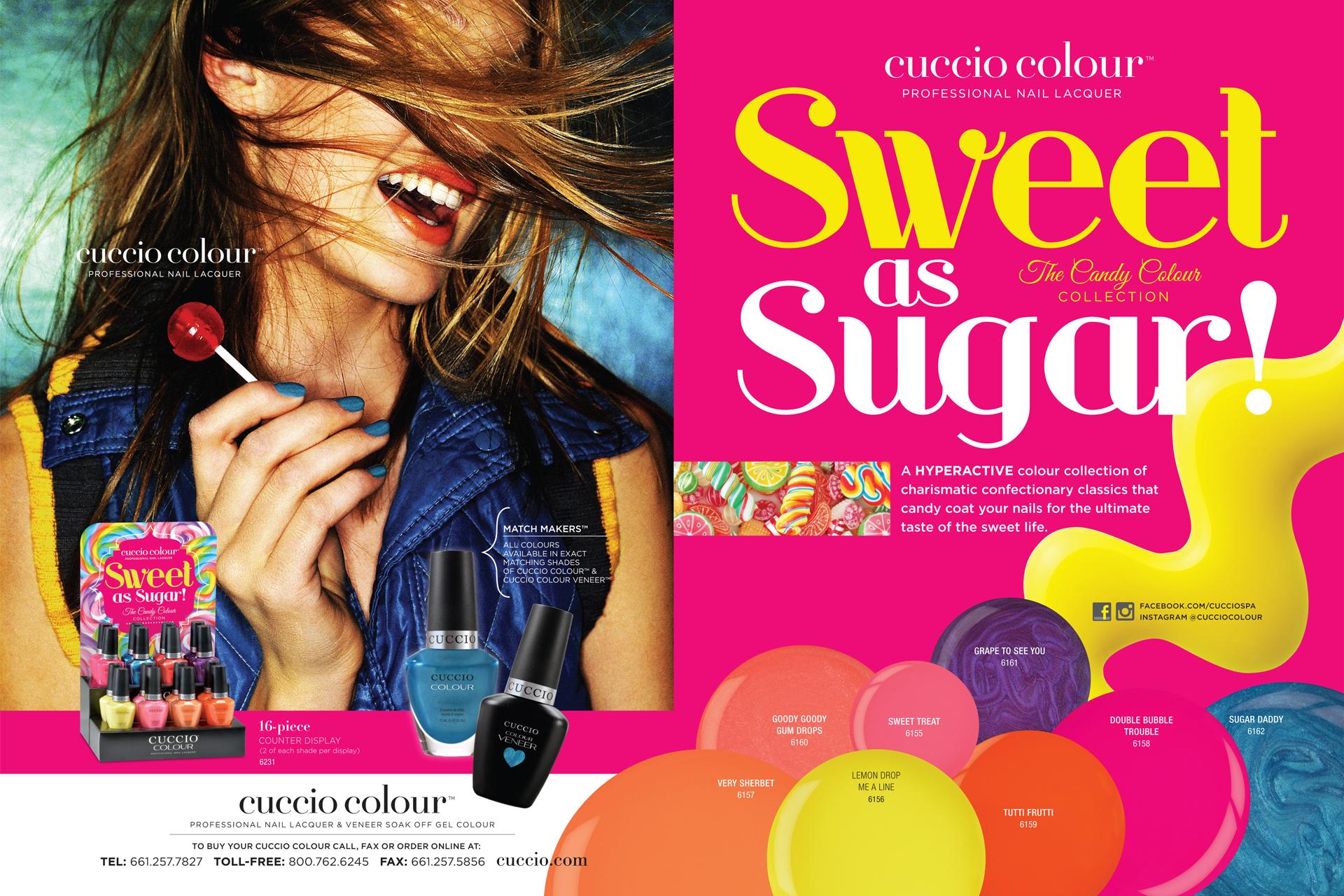 Cuccio - Sweet as Sugar