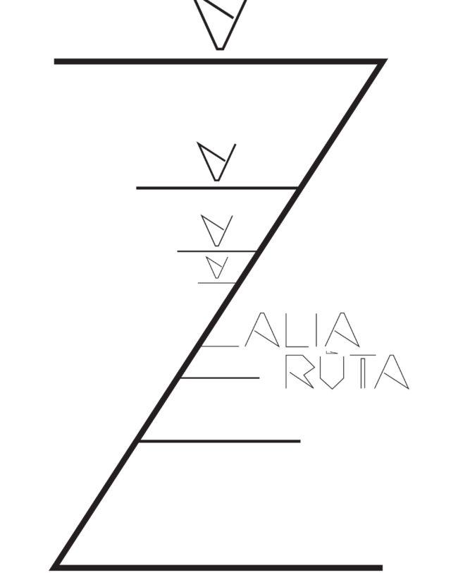Poster Zzzzzalia Ruta